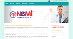 Preview of nemipharma.in